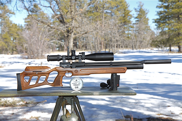 Cricket rifle