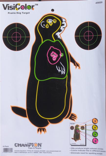 P dog target
