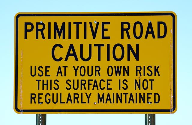 Primitive rd sign