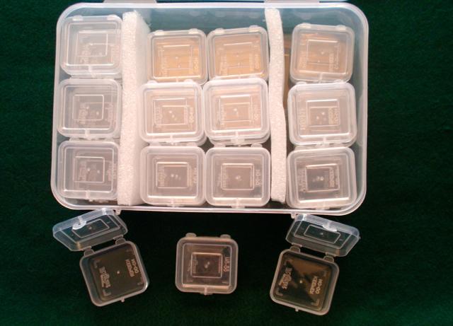 Boxes w:lids open