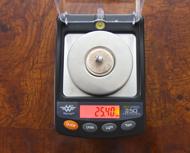 Scale w:pellet